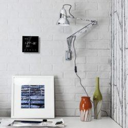 Cyfrowy 2 rury termostat termometr klimatyzator z ekran dotykowy LCD programowalny pokój Termometro regulator temperatury w Termometry od Narzędzia na