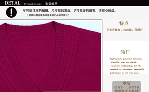 Image 5 - 2019 Plus Size Women Clothing 5XL 6XL7XL 8XL 9XL Large Size Middle Aged Clothes Mother Cashmere Sweater Knitted Shirt Sleeve