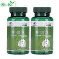 2 botellas de 1000 mg De Calcio líquido cápsula suplemento de calcio líquido