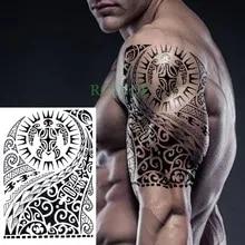 Wyprzedaż Temporary Tattoo Men Arm Tribal Kupuj W Niskich