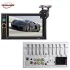 In Dash 6,6 ''HD Touch Screen Stereo Radio FM MP4 MP5 Audio Auto Video Player USB TF Auto Elektronik 2 Din Bluetooth