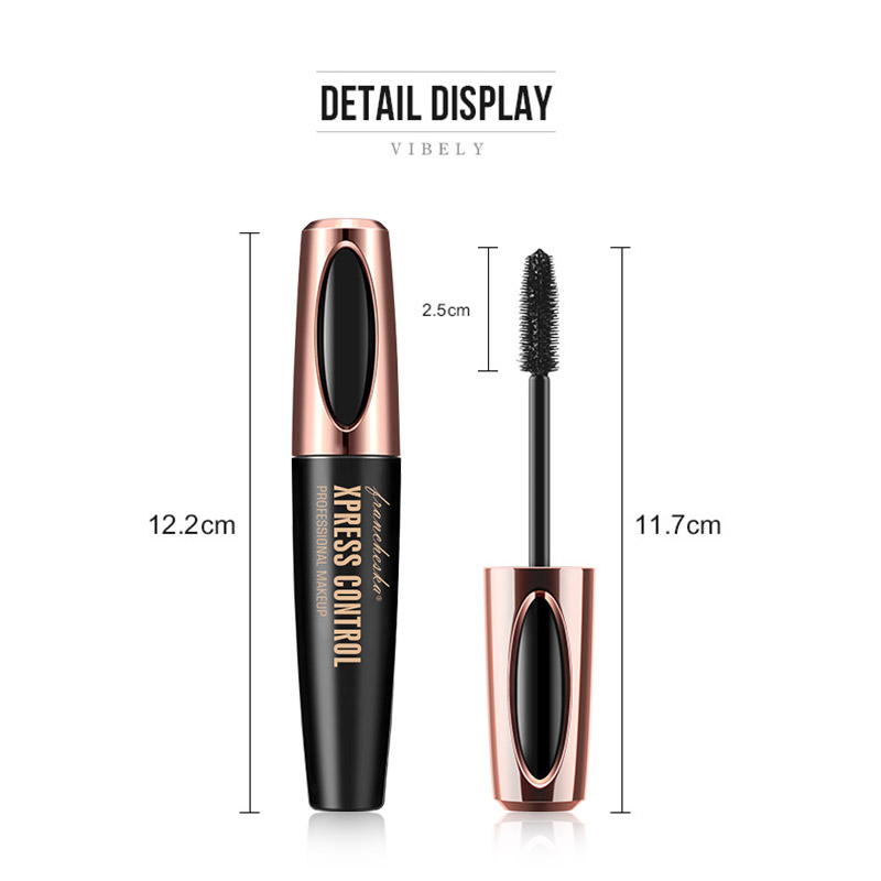 rimel Eyelash Mascara 4d Silk Fiber Long Lasting white Mascara Eye Lashes Makeup cosmetic Rimel Waterproof mascara de cilios 1