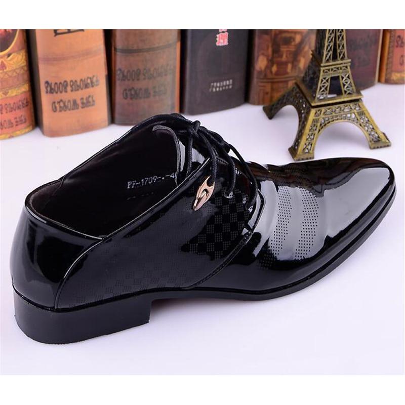 Otoño De Lujo Estrecha Vestir Para Negocios Formales 2018 Boda Oxford Punta Primavera  Zapatos Formal Hombres gqwxqa4Yd e7035afea9b