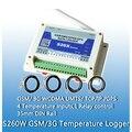 Endoor enclosure Free Shipping GSM GPRS Temperature Logger data logger Temperature alarm data logger S260