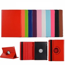 For Huawei MediaPad M3 Lite 10 10.1 BAH-W09 BAH-AL00 BAH-L09 Rotation 360 Degree Rotating  Litchi PU Leather Case