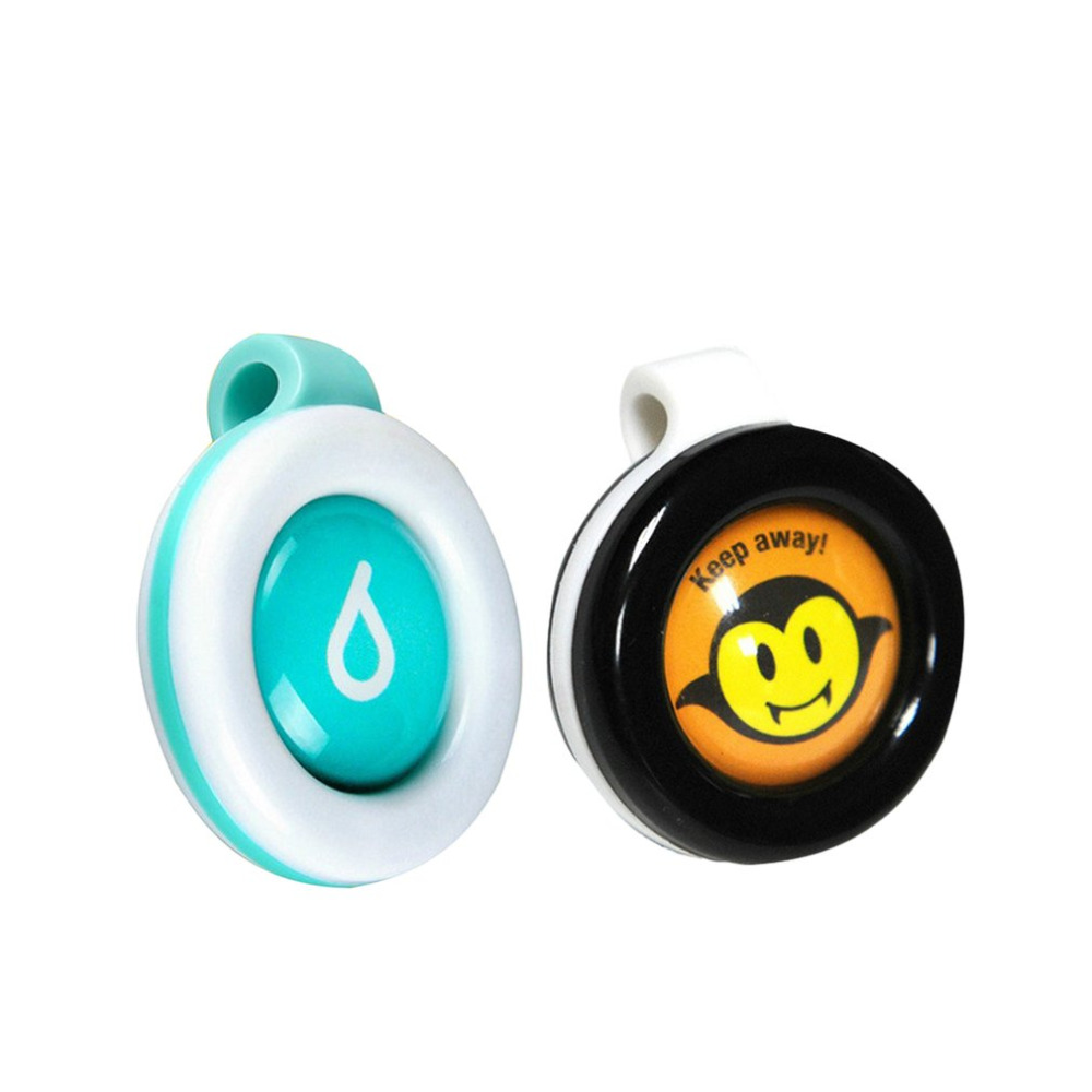 Reusable Mosquito Repellent Badge Button Baby Pregnant Woman Mosquito Repellent Clip For Travel Camping Hiking Outdoor Playing