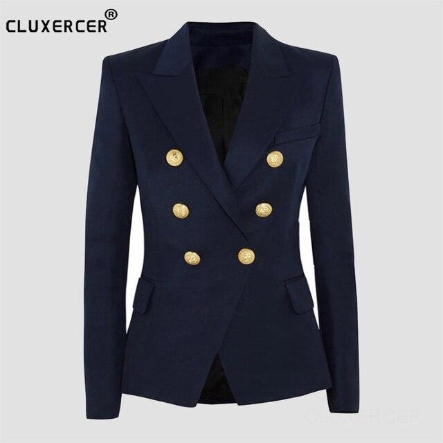Piste Style Femmes Qualité Haute Blazer Nouvelle 2017 Femme Mince n0wPOk8X