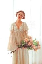 LYNETTE'S CHINOISERIE Spring Autumn Original Design Women Court Vintage Fariy Dresses