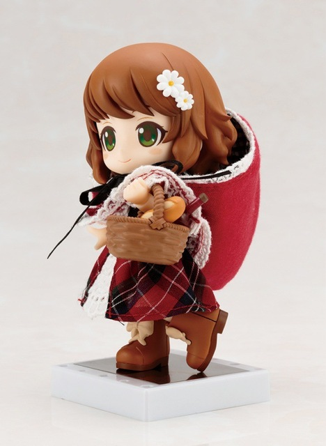 Nendoroid Cute Little Red Riding Hood Variant Mini Action Figure Real Clothes Ver. PVC figure Toy Brinquedos Anime 10CM 3