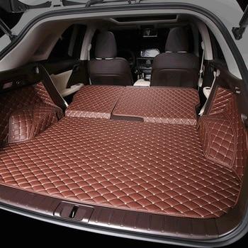 fiber leather car trunk mat for lexus rx200t rx350 rx450h rx300 2015 2016 2017 2018 2019 2020 al20 f sport car accessories