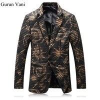 HOT 2017 New Spring Fashion Brand Men Blazer Men Trend Suits Casual Fashion Jacket Men Slim