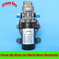 5.5L/Min 12V DC 80W small high pressure diaphragm battery powered water pump