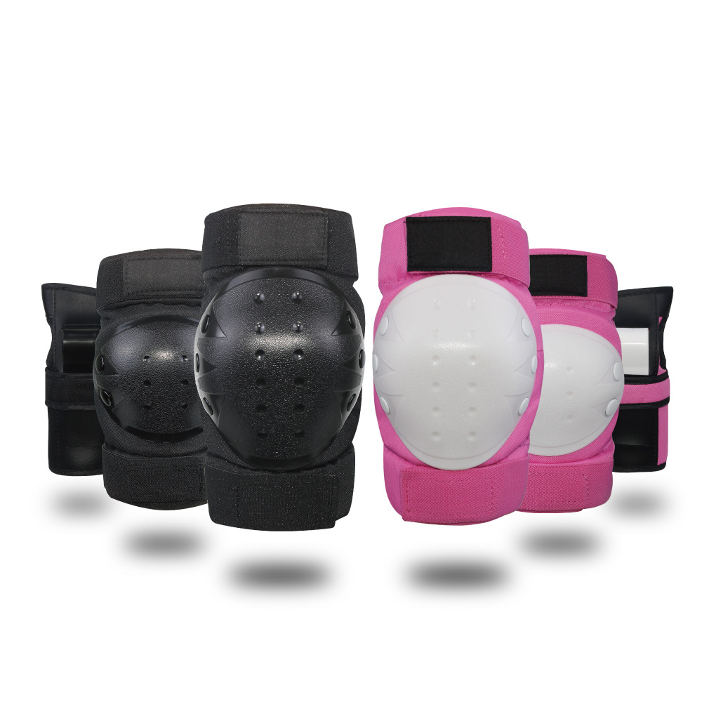 6Pcs/set Children Sport Protector Knee Elbow Pads Wrist Splint Hand Guard Body Protective Gear for Skateboarding Skiing Riding