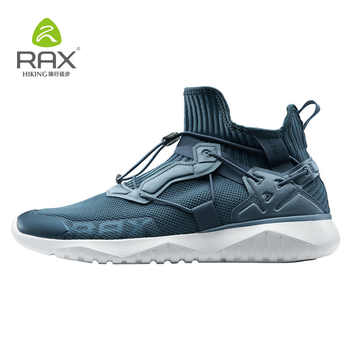 Rax 2018 Autumn Winter Sneakers Women Men Knit Upper Breathable Sport Shoes Chunky Shoes High Top Running Shoes For Men Women479