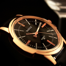 Yazole מותג יוקרה מפורסם גברים שעונים עסקי גברים של שעון זכר שעון האופנה קוורץ שעון Relogio Masculino reloj hombre 2018