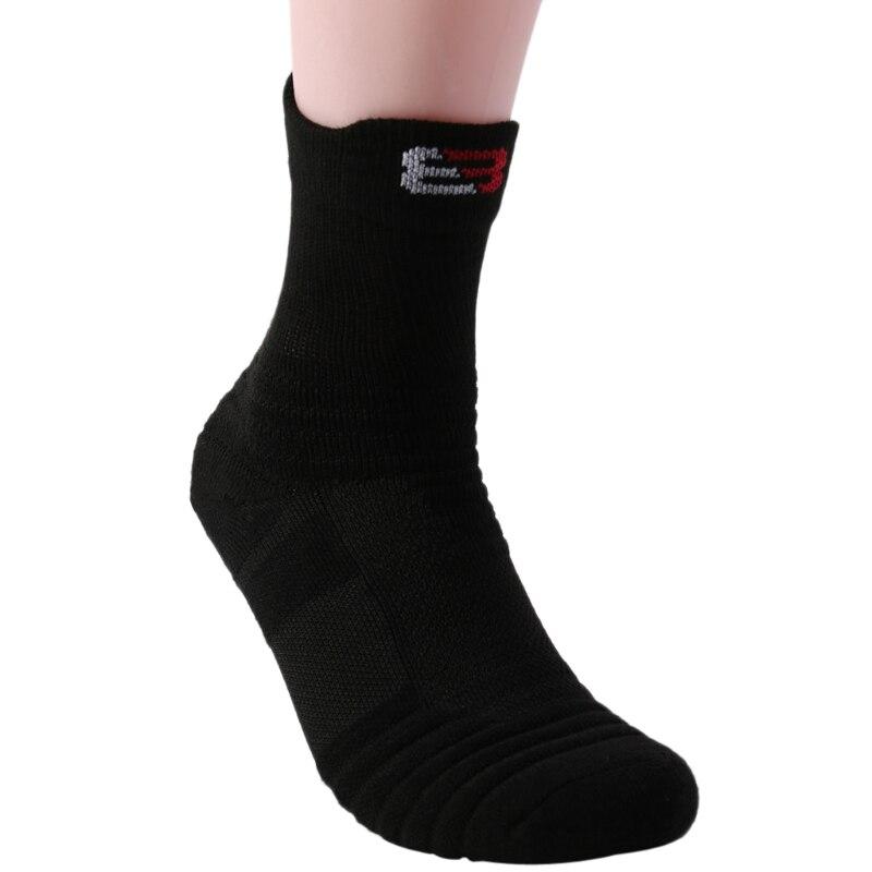 Outdoor Sports Basketball Socks Men Thicker Towel Bottom Non-slip Socks 'zt