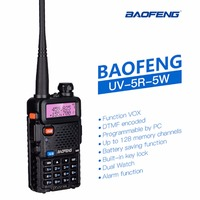 BaoFeng UV 5R Portable Walkie Talkie VHF/UHF Dual Band Two way radio Professional CB Radio Station UV 5R Hunting Transceiver