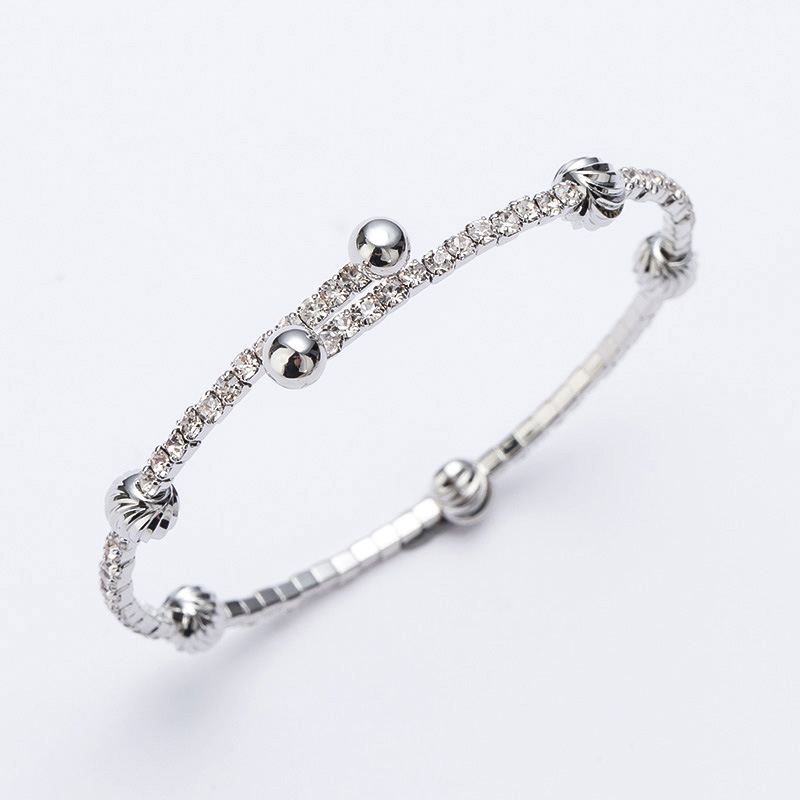 bangles plated chain wedding silver z bracelets female lamdeps gift women snake a bracelet com popular link wide for