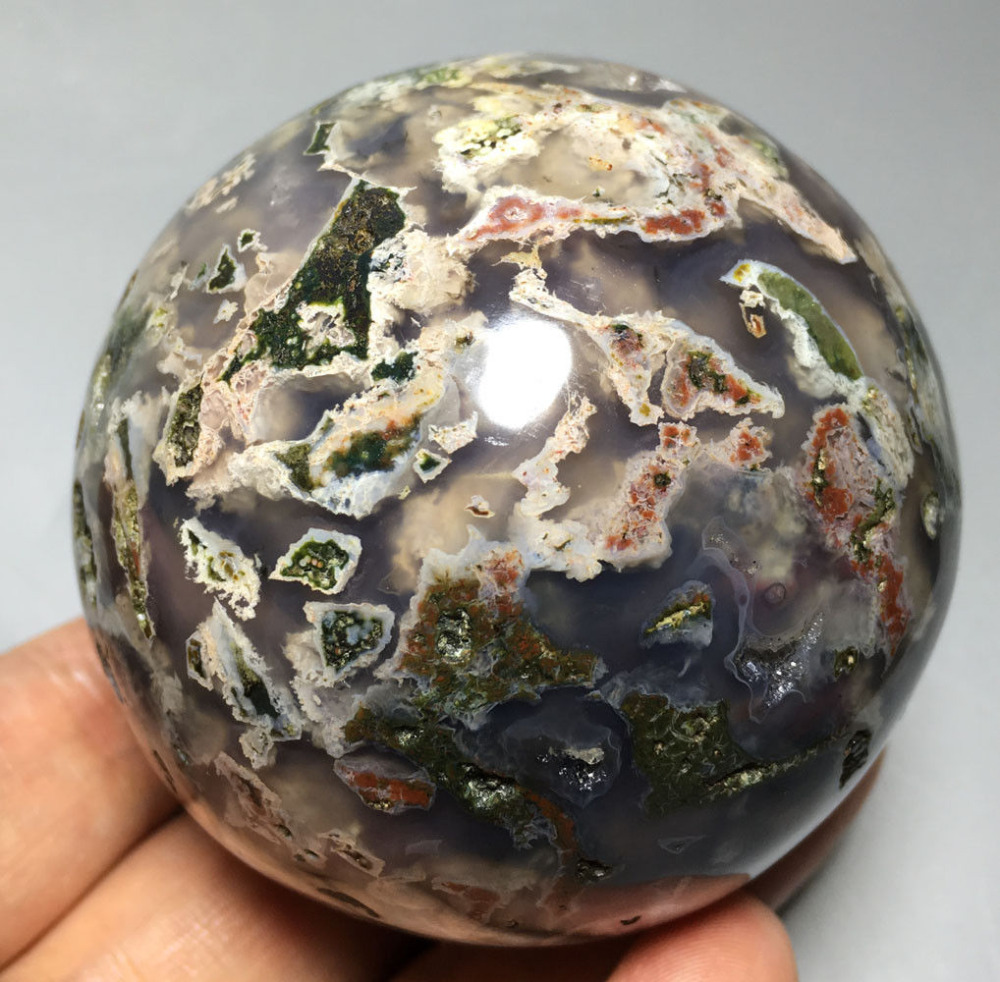 424g Raw NATURAL OCEAN JASPER QUARTZ CRYSTAL sphere BALL HEALING  Crystals healing  stones424g Raw NATURAL OCEAN JASPER QUARTZ CRYSTAL sphere BALL HEALING  Crystals healing  stones