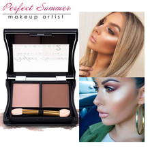 Bronzer & Highlighter Power Trimming Powder Makeup Cosmetic Face Concealer Perfect Summer Make Up Contour Palette With Brush rosie assoulin повседневные брюки