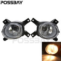 POSSBAY Fit For Audi A4/Avant B7 quattro Sedan Left& Right Front Fog Lights Halogen Fog Lamp High Quality Car Replacement