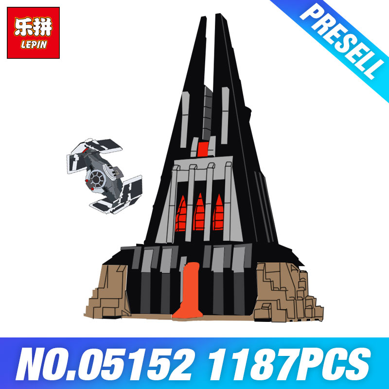 Lepin 05152 Star Toys Wars DIY 75251 Darth Vader's Castle Set Building Blocks Bricks Assembly Kids Toys Christmas Birthday Gifts цена 2017