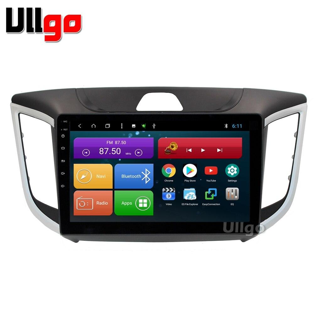 10.1 pouce Android 8.1 Unité De Tête de Voiture pour Hyundai Creta iX25 Centrale Multimédia avec BT Radio RDS Miroir-lien wifi 16 gb carte carte