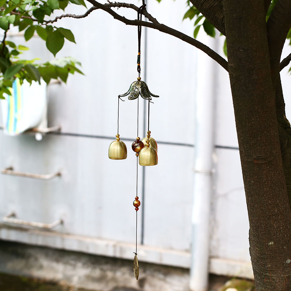 Metal Home Decor Yard Decoration Copper Windchimes Garden Outdoor ...