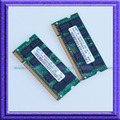 2GB 2x1GB PC2 4200 DDR2 533 533Mhz SO-DIMM 200 PIN Laptop ddr2 2G Notebook RAM Memory Free Shipping!!!