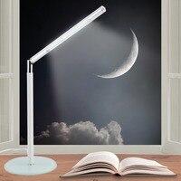Led Desk Lamp Usb Innovation Office Eye Protected Foldable Rechargeable Swivel Desk Bright 24LEDs Reading Lamp