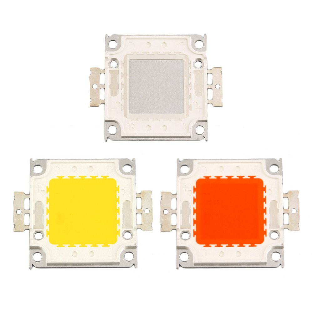 ICOCO RGB Super Bright High Power Integrated SMD LED Chips Flood Light Bulb 20W set