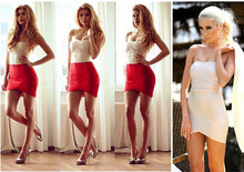 Elastic Women Skirts Mini Sexy Slim Pencil Clubwear