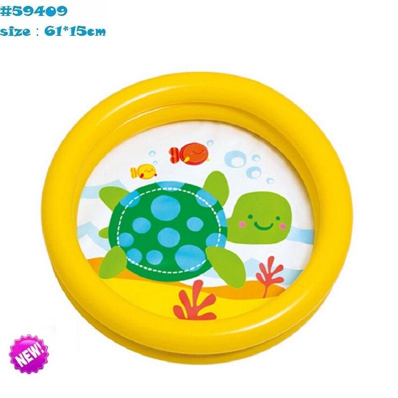 piccolo doppia bambino piscina pieghevole bambino vasca gonfiabile vasca da bagno per bambini baby pool di