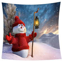Modren Red Sweater Snowman Digital Printing Coral Velvet Plaids Blanket Sofa Decorative Throws on Sofa/Bed/Plane