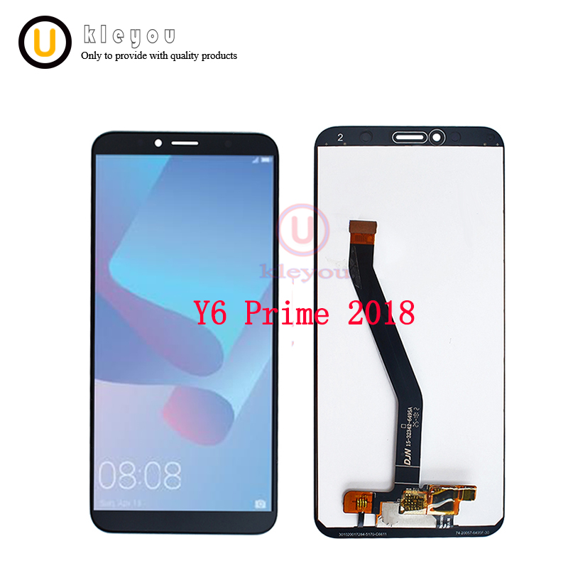 10pcs 5.7 For Huawei Y6 Prime 2018 LCD Display And Touch Screen For Huawei Y6 Prime 2018 ATU LX1 / ATU L21 Mobile Phone parts