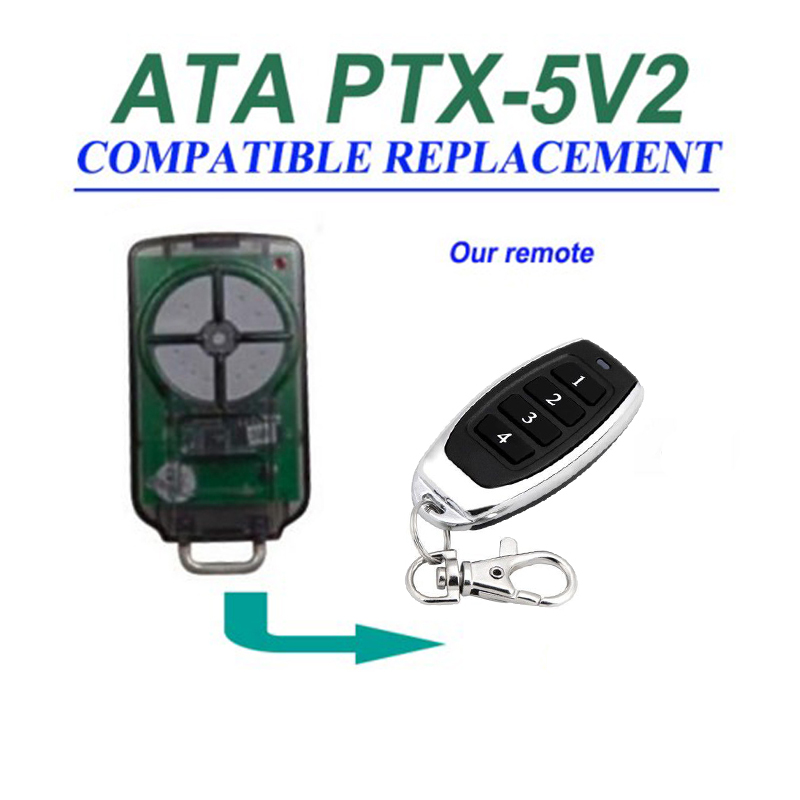 1pcs For ATA PTX5v2 PTX5V1 compatible Garage Door Triocode Control  free shipping1pcs For ATA PTX5v2 PTX5V1 compatible Garage Door Triocode Control  free shipping