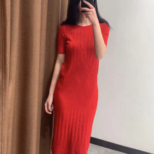 Sexy Women Summer Short Sleeve Mid-calf Long Dresses Fashion Empire Waist Evening Party