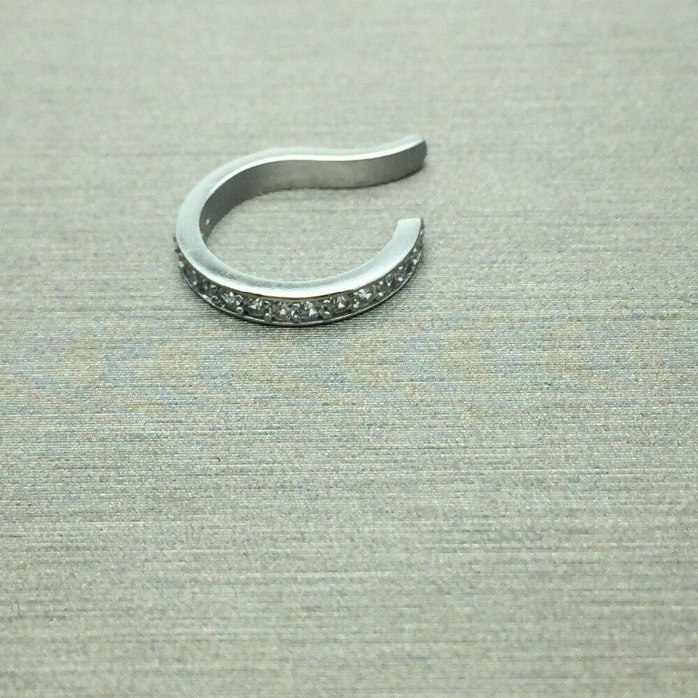 Brinco Ear Cuff Ear Clip Zirconia Earrings Зергерлік - Сәндік зергерлік бұйымдар - фото 4
