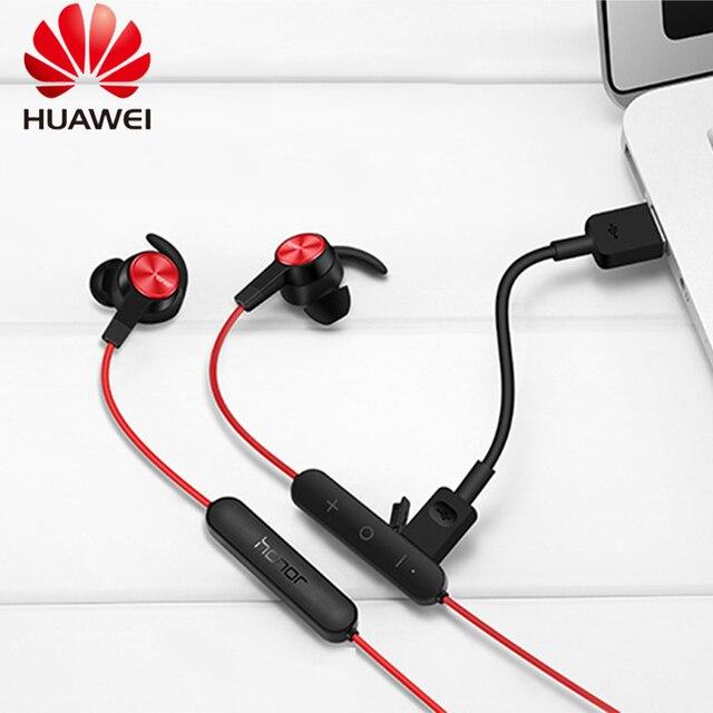 سماعات هواواي Honor xSport AM61 أصلية, تأتي مع بلوتوث 4.1 ، وخاصية IPX5 ، وخاصية مضاد الماء للهواتف الذكية