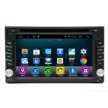 Free Shipping Android 4.4 Quad Core 7″ HD Capacitive Touch Screen 2 Din Universal Car DVD Radio GPS Navigation1.6GHZ CPU
