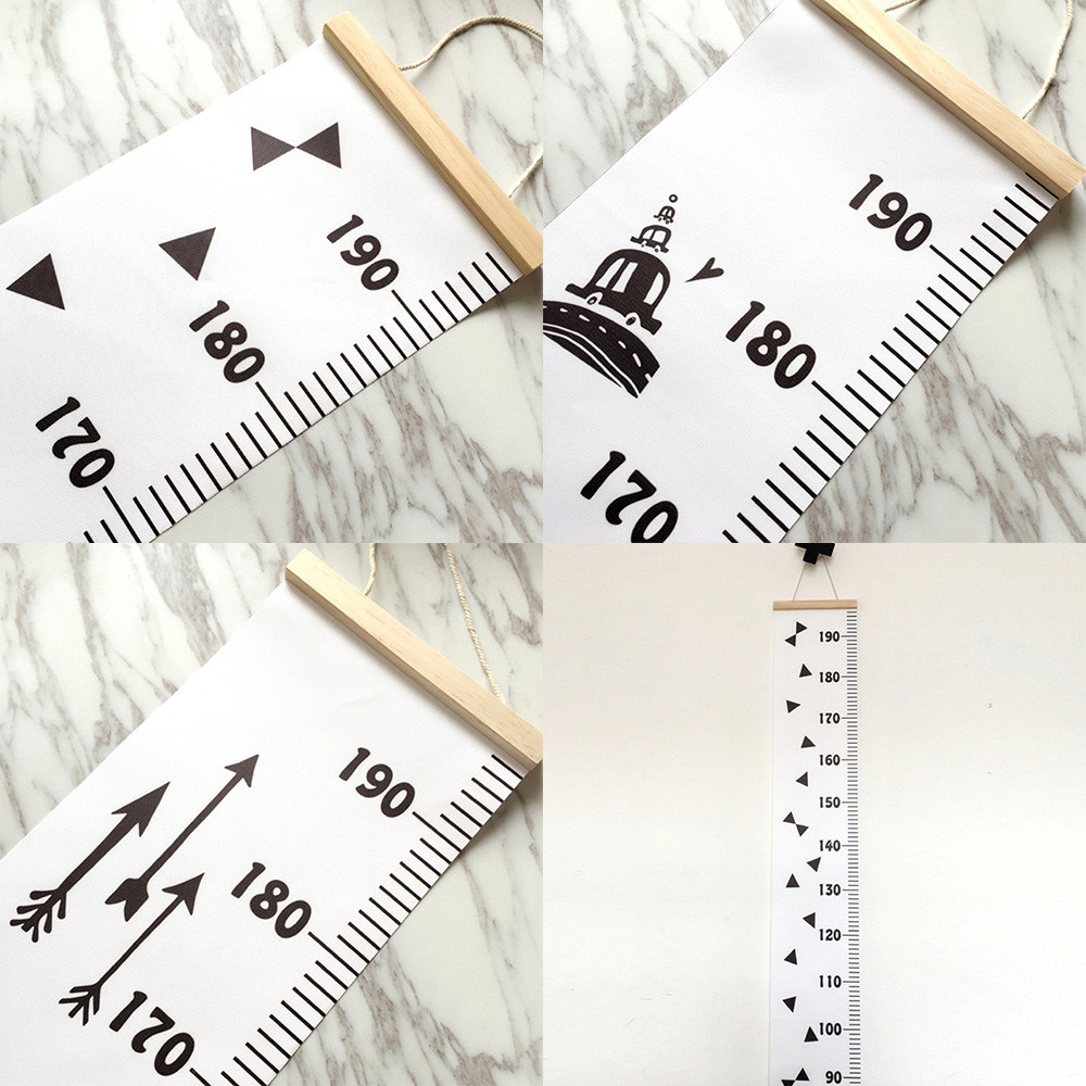 Baby height growth chart hanging rulers kids room wall wood frame baby height growth chart hanging rulers kids room wall wood frame home decor charming decoration for baby room in wall stickers from home garden on nvjuhfo Images