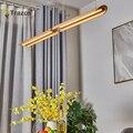 TRAZOS креативный Скандинавский современный художественный подвесной светильник  деревянные подвесные светильники для спальни  гостиной  ре...