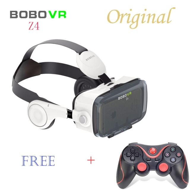Virtual Reality Xiaozhai BOBOVR Z4 3D VR Glasses 3D Game Video Headset for 3.5-6.0 inches Mobile Phones Immersive with Headphone