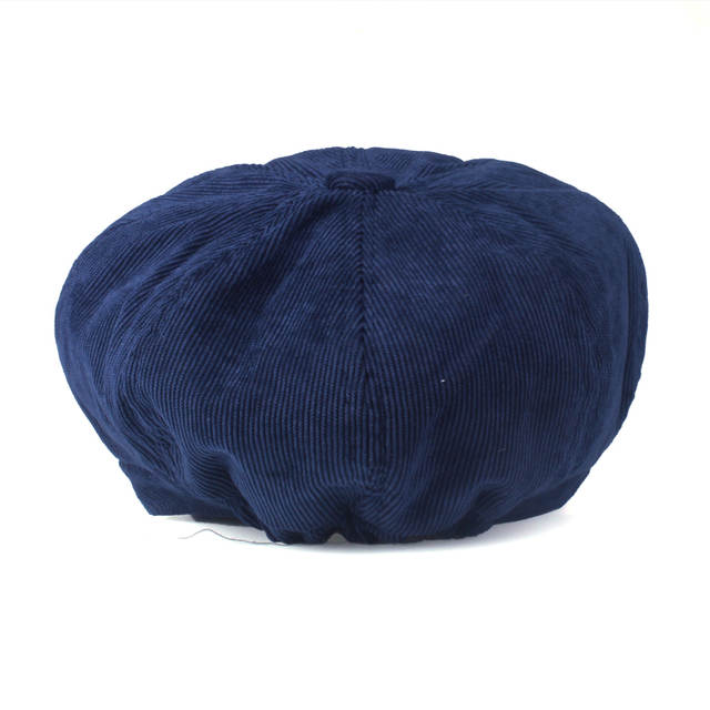 YARBUU  Artista corduroy Mulheres Octogonal Boinas Chapéus para mulheres  cap Moda de Alta Qualidade 85a37e0b009