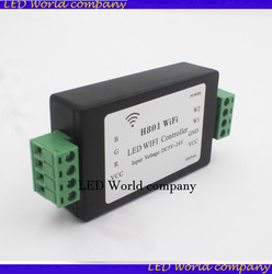 1 stücke H801 WiFi; RGBW LED WIFI controller; RGBW WiFi LED H801 Controller; DC5-24V eingang; 4CH * 4A ausgang