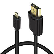 Micro HDMI Cable Type D To A HDMI To Micro HDMI Cord 4K For Cellphone Tablet-PC Camera 1m 2m 3m(China)