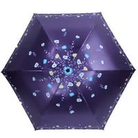 Ultralight Double sided Embroidery Beautiful Woman Carbon Fiber Sunscreen Sun Umbrella UV Protection Umbrella Lady Umbrella