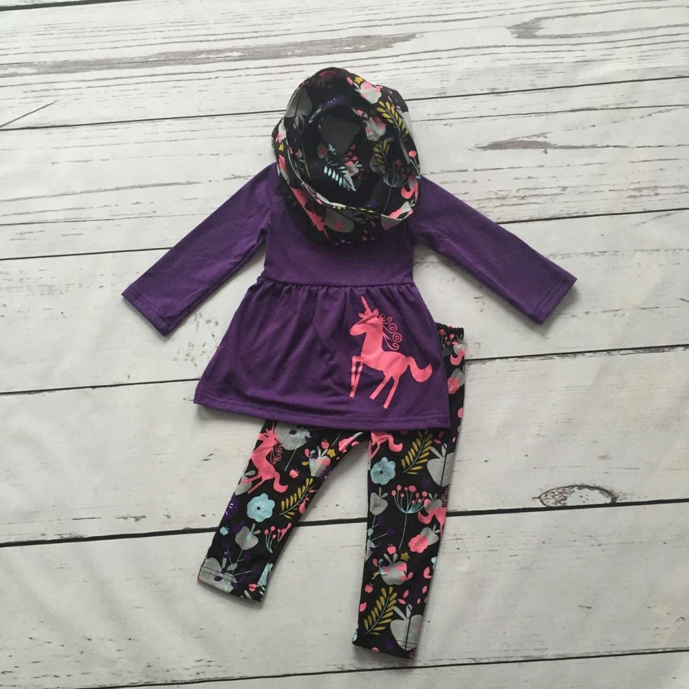 FALL OUTFITS persnickety girls 3 pieces sets girls baby girls unicorn clothing children boutique brown top with unicorn pant frank buytendijk dealing with dilemmas where business analytics fall short