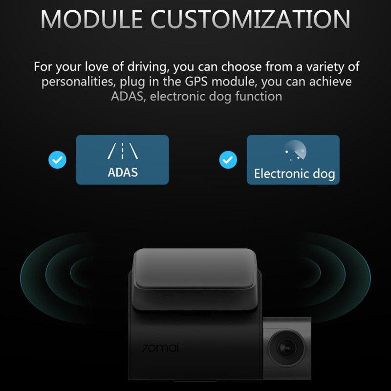 70mai Dash Cam Pro smart Voiture 1944 P HD Vidéo IMX335 140 Degrés FOV Fonction Avancée Système d'aide au Conducteur app Controll - 4