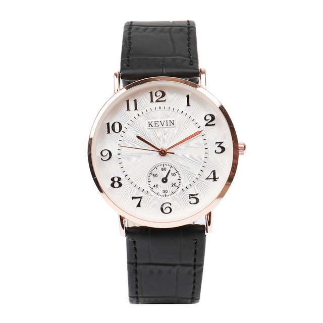 2017 New Brand Kevin Women Men's Wrist Watches Lovers Couple Watch Simple Fashio